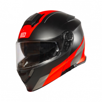 Helma DELTA BASIC DIVISION FLUO RED BLACK - Matt- Origine 1
