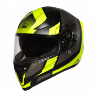 Helma INTEGRALI STRADA ADVANCED FLUO YELLOW-BLACK - Matt Origine 1