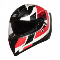 Helma INTEGRALI STRADA ADVANCED RED-WHITE - Matt Origine 1