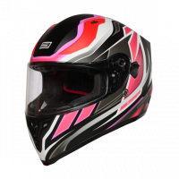 Helma INTEGRALI STRADA REVOLUTION FLUO FUXIA-WHITE-BLACK - Matt Origine 1