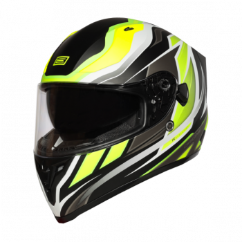 Helma INTEGRALI  STRADA REVOLUTION FLUO YELLOW-TITANIUM-BLACK - Matt Origine 1